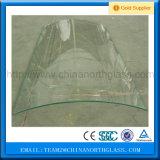 Vidro Tempered dobrado vidro curvado Tempered para edifícios