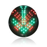 高い明るさ200mmの赤十字LEDの交通信号ライト