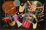 Huile sur toile abstraite 0114