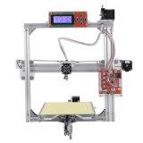 큰 크기, Aulto 수평 Fuction 의 다중 사용법을%s 가진 Anet A2 금속 프레임 3D 인쇄 기계