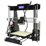 Stampante poco costosa 3D con lo schermo dell'affissione a cristalli liquidi