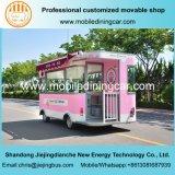 Горячая продавая тележка еды мороженого электрическая с опционным оборудованием доставки с обслуживанием