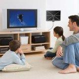 Cjh amplifican un agarre seguro UHF/VHF Antena HDTV interiores