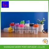 400ml 16oz пластиковых бутылок вибрационного сита Joyshaker чашки спорта бутылок для воды