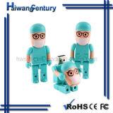 Cute Robot unidad Flash USB (HWSJ-JL006)