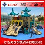 低価格の子供の屋外の冒険の運動場装置のスライドHD16-046A