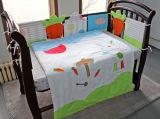 100% algodón de bebé ropa de cama de fabricación China