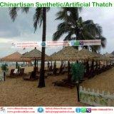 Thatch sintetico che copre il coperchio messicano 10 del capo della pioggia di Thaych Bali Java Palapa Viro del Thatch di Rio del Thatch a lamella artificiale della palma