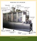Het Vullen van het Karton van de Melk van de soja Verzegelende Machine Met geveltop