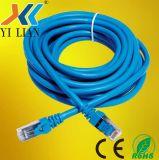 Низкое напряжение питания на заводе цена RoHS.Ce.FC UTP/FTP/STP/SFTP Cat5/Cat5e/Cat6/Cat7 кабель локальной сети с помощью сетевого кабеля 1 м 2 м 3 м 5 м 10m оптоволоконный патч шнур адаптера на большой скорости