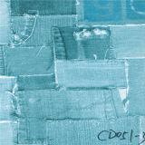 Бумага меламина картины ткани джинсыов
