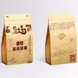 De verpakkende Zak van het Document van Kraftpapier van de Noot van het Voedsel van de Verpakking