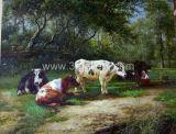 Классические Картины маслом - 2 животных