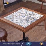 Tableau dinant carré Sbe-CZ0613 de Tableau en bois en gros de café