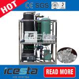 macchina trasparente/a cristallo di 40mt del tubo di ghiaccio
