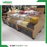 Supermarket Wood Vegetable Display Racks
