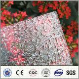 Hoja grabada policarbonato claro del fabricante 2.5m m Sun de China