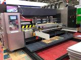 Польностью автоматическое печатание цвета 4 прорезая и умирает автомат для резки