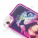 Posséder le cas liquide de la marque TPU DEL pour l'iPhone 7