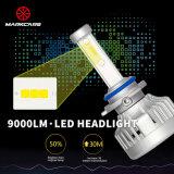 Lampadina 2017 del faro degli accessori 9000lm A2 9007 LED dell'automobile di Markcars