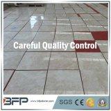 Le mattonelle di pavimento di marmo di pietra cinesi del materiale da costruzione hanno lucidato & lustrato
