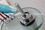 Taraud de mélangeur en laiton de bassin de bassin de salle de bains de cascade à écriture ligne par ligne de corps de fini de chrome de Bluebay