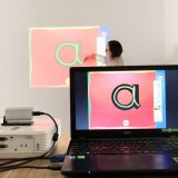 Whiteboard interattivo portatile per il commercio di formazione con lo schermo di tocco (IWB)