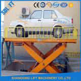 De hydraulische Mechanische Grote Lift van de Auto van de Schaar Inground