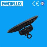luz elevada do louro do diodo emissor de luz do UFO de 100W IP65 com iluminação da indústria