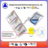 Caixa de dosagem de líquidos e máquina de embalagem para o tapete do mosquito