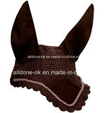Custom Equestrian Horse Gear Fly Mask Veil Bonnet Saddlery