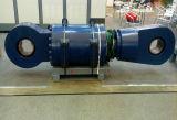Grande tipo a semplice effetto cilindro idraulico della flangia di alto tonnellaggio