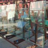 19мм УФ защита прозрачных сэндвич закаленного стекла во внешней стене