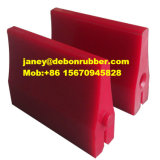 Barra su ordinazione del poliuretano del getto del solido, unità di elaborazione Rod, elastomero dell'unità di elaborazione