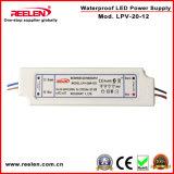12V 1.67A 20WはIP67一定した電圧LED電源を防水する