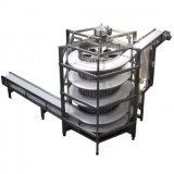 Transportador fresco del acero inoxidable del espiral por encargo del tornillo