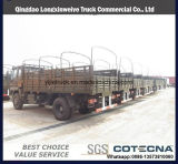중국에서 판매를 위한 화물 덤프 4WD 디젤 엔진 새로운 트럭