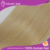 As extensões Pre-Ligadas do cabelo Eu-Derrubam 20inches de seda