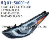 Hyundai Elantra 2014년을%s 영사기 맨 위 램프 (92101-3X210 92102-3X210 92102-3X420 92101-3X420)