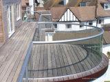 12mm Stärken-moderner ausgeglichenes Glas-Balkon