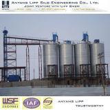 2000t de cemento de acero galvanizado de cenizas volantes silo para Molino