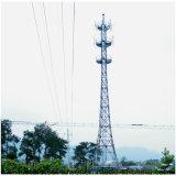 Torretta di telecomunicazione autosufficiente triangolare di telecomunicazione d'acciaio nel prezzo di fabbrica