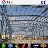 Sección H cónicos de estructura de acero de acero de bajo coste Hangar