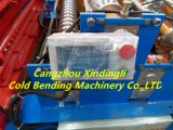 Rodillo de acero del buen color doble de la cubierta que forma la máquina