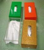 Acrílico transparente Hotel Cocina Baño caja de tejido