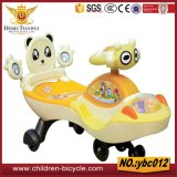 Hot Selling Simples e Adorável Baby Swming Cars com música