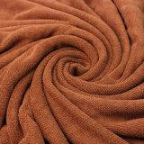 Heißes haltbares schnelles trocknendes Microfiber Bad-Tuch Brown-