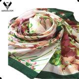 Lenço famoso da seda das mulheres da flor colorida G20 Hangzhou da alta qualidade