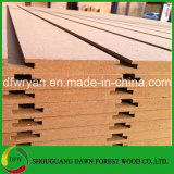 L'emplacement MDF/placages de bois/PVC/HPL/UV/de la Mélamine MDF laminé