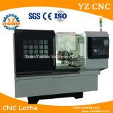Высокая точность оборудует машину Lathe CNC машины малую горизонтальную